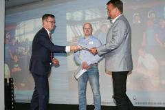 Anders Boman samt Harald Hällén och Lars Backlund, m/t Evinco