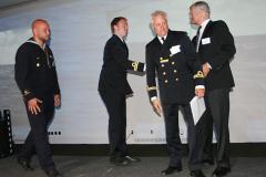 Trion från HMS Gladan