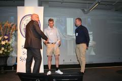 Ove Eriksson med Andreas Thulin och Linus Vargvik, Balder Viking.