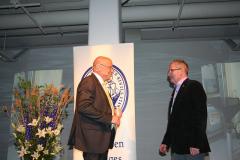 Ove Eriksson med Börje Jansson, isbrytaren Atle.