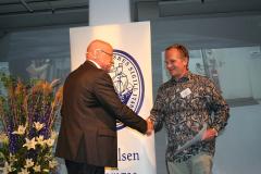 Ove Eriksson med Thomas Gustafsson, m/s Petunia Seaways.