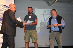 Ove Eriksson med Eric Ericsson och John Andersson, m/s Sena Jutlandica.