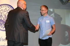Ove Eriksson med Erik Sjöqvist, m/s Stena Jutlandica.