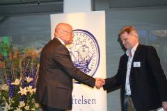 Ove Eriksson med Jan Mattsson, m/s Stena Saga.