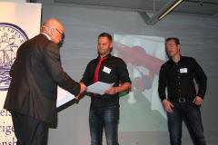 Ove Eriksson med Simon Lejdemark och Jacob Edheimer, m/t Solero.