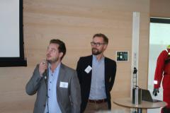 Carl Olsson och Niklas Johansson, Terntank.