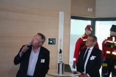 Tekniske chefen Peter Nilsson, Viking Orion, och Karl Karell.