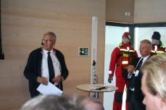 Sjökapten Benny Pettersson med Christer Nordling.