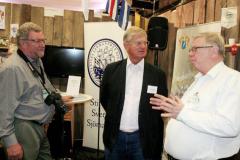 Från vänster: Karl-Erik Finnman, Christer Nordling Peter Skanse. Foto: Torbjörn Dalnäs