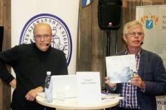 Lennart Johnsson presenterade fotografen Stefan Lindeberg och hans fotoprojekt. Foto: Torbjörn Dalnäs