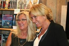 Berit Blomqvist och Anne Lundberg, Landgång.