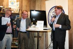 Lennart Johnsson med Anders Wällhed och Tomas Abrahamsson.