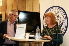 Lennart Johnsson och Heli Kärkkäinen.
