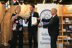Christer Nordling, Joachim Östlund och Pia Berglund.