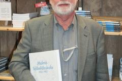Jan Horck om sin historik över Malmö Sjöbefälsskola.