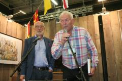 Författaren Nils Molin med Lennart Fougelberg.