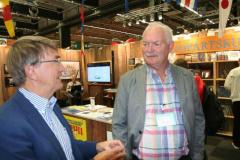 Mats Andersson från TransAtlantic och Lennart Fougelberg.