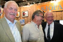 Lennart Fougelberg, Dick Henriksson och Peter Carlsson.