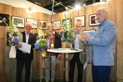Göran Sändare, Eric Hallberg och Nils Sjökvist.