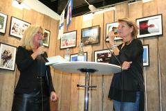 Berit Blomqvist och Catherine Sandberg.
