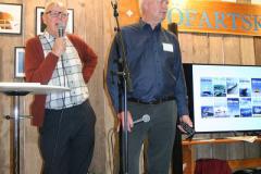 Krister Bång och Lennart Fougelberg.