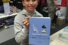 """Glad kund som letade efter boken """"Längs kusten i Bohuslän""""."""