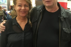 Catherine Sandberg och David Ericsson.