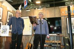 Stefan F. Lindberg och Lennart Johnsson berättar om sin kommande bok Blues för Ove.