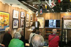Claes-Göran Wetterholm berättar om katastroferna på Östersjön i andra världskrigets slutskede.
