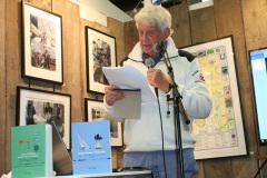 Ted Knapp berättar om sin bok Längs Göteborgs kuster, kajer och kanaler.