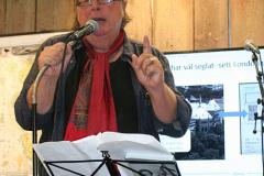 Martin Nyström, musikskribent med mera, presenterar sin bok om Evert Taube.