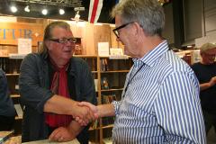 Martin Nyström och Karl Karell pratar Sydamerika och Johnson Line apropå Evert Taube.